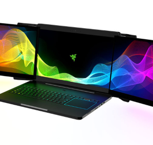 Razer insane three screen laptop